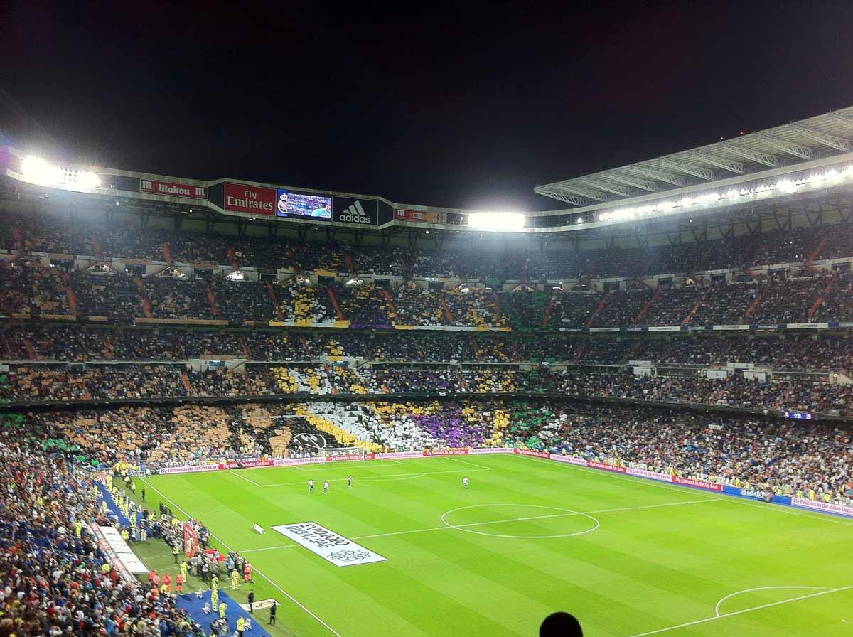 Beloningsreis naar Madrid