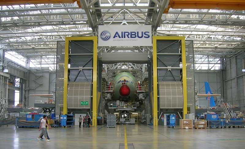 Een bezoek aan de Airbus fabriek in Toulouse. Lees meer over dit bezoek in ons blog!